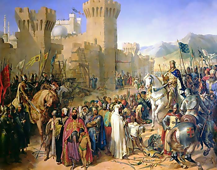 Today in History: 11 July 1191: Saladin Makes Final ...