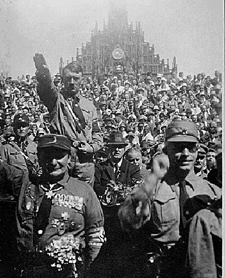 the similarities between shakespearean macbeth and adolf hitler Titus andronicus by william shakespeare  similarities between aaron and iago  the emperor makes me think about adolf hitler.