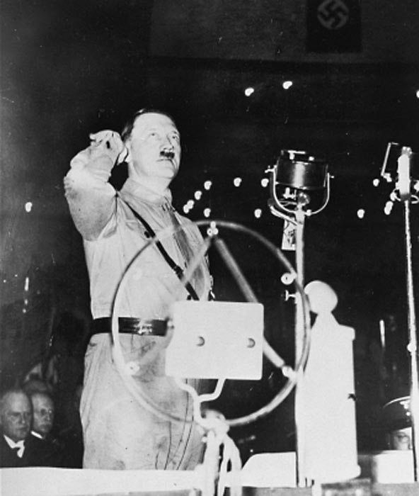 """my speech about adolf hitler and Adolf hitler, leader of the nazi party, strikes a pose for photographer  they were  published in his memoir, """"hitler was my friend"""", which came."""