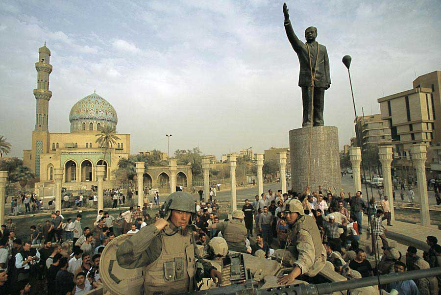 Today in history 5 april 2003 u s forces enter baghdad city limits