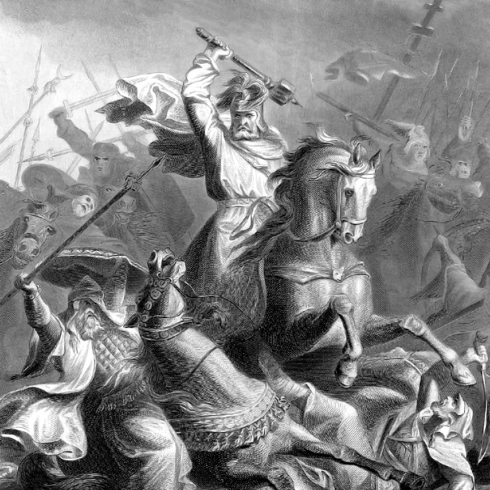 martell muslim Charles martel turned back a muslim raid that had it been allowed to continue,.