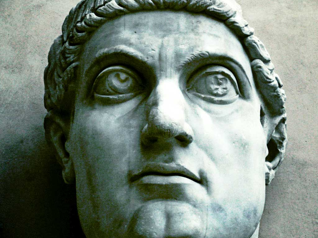 the religious conversion of constantine the great a roman caesar Constantine the great: a biography he established freedom of religion in the roman empire and was sole ruler who founded the empire of byzantium or of new rome or of constantinople -- the influence of which even.