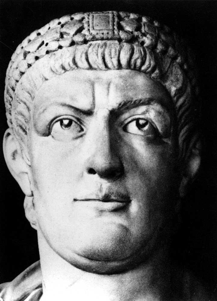 The history of emperor constantine