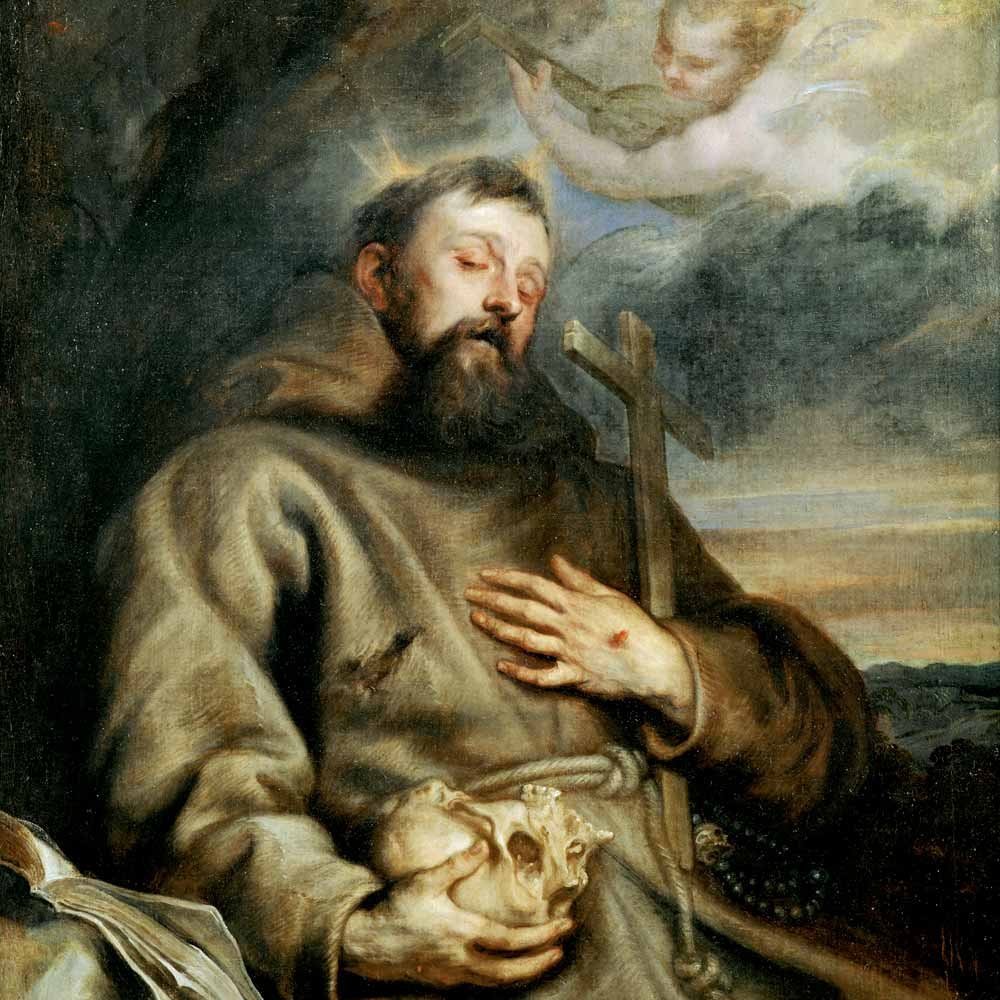 today in history 14 september 1224 st francis of assisi s stigmata appears at age of 42