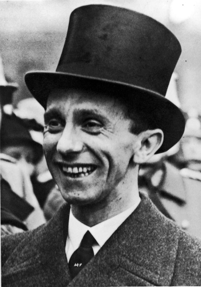 how josef goebbels influenced nazi philosophies on germans She married joseph goebbels in some educated older germans recognized goebbels' propagaganda the nazi campaign to elimate jewish influence in german cultural.