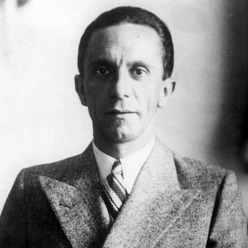 Gallery images and information: Joseph Goebbels Propaganda Posters