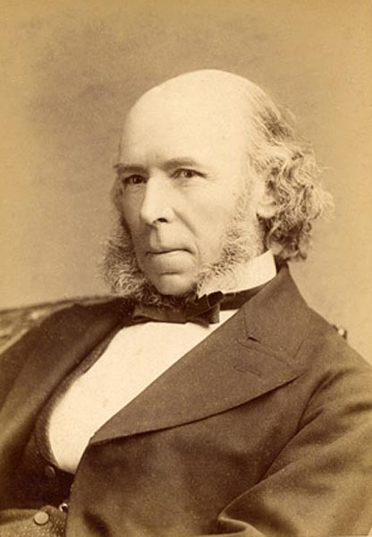 Today in history 27 april 1820 birth of herbert spencer early defender of evolution and - Gevels herbergt fotos ...