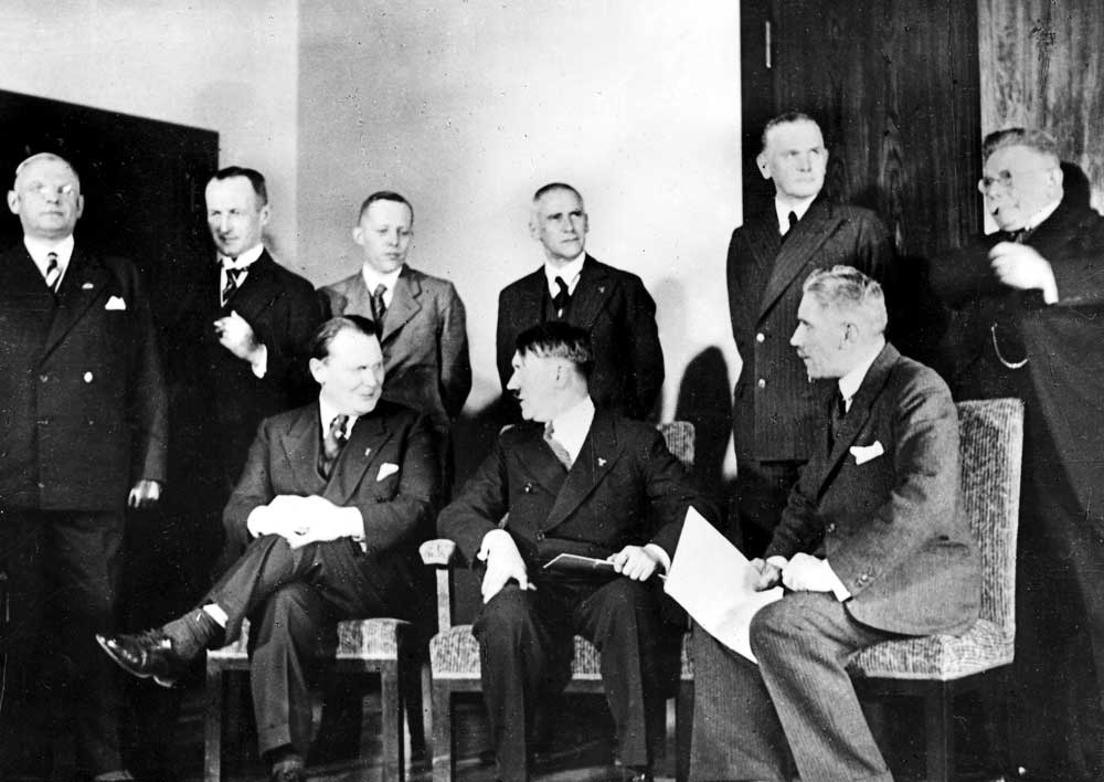 Today in History: 14 July 1933: Hitler's Cabinet Gives Unanimous ...