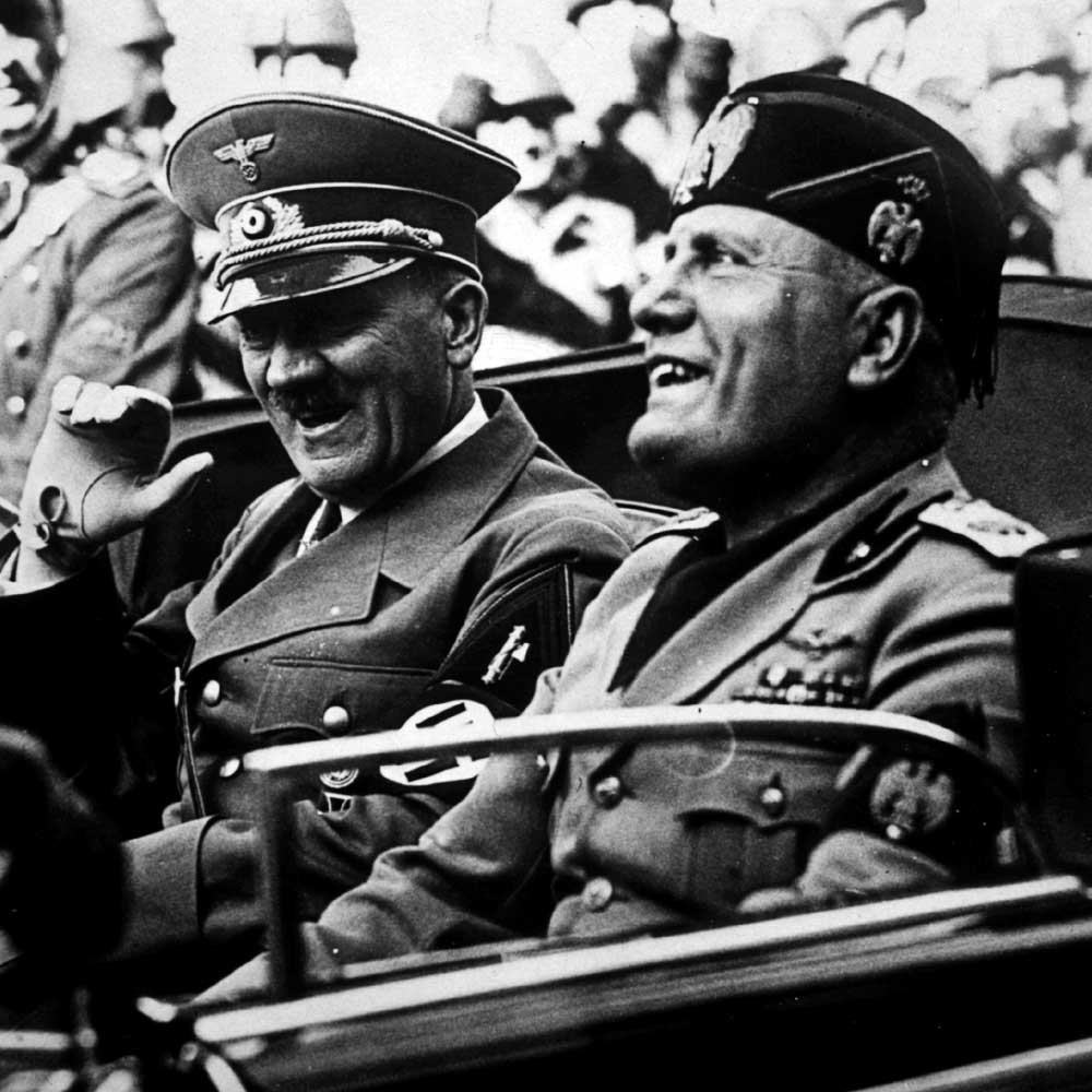 an analysis of the topic of benito mussolini in the world war two