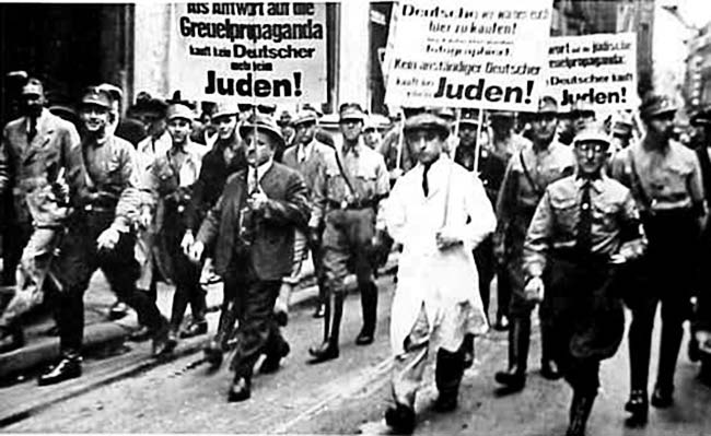a history of anti semitism in the world war two and the holocaust The course tracks the history of the holocaust and has two parts as part of world war 2 the uniqueness of nazi anti-semitism and its place in the ns.