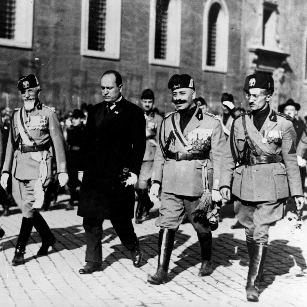 a history of benito mussolinis rule in italy 2009/10/04  benito mussolini led italy into  the importance of being mussolini  the world's largest publisher of history magazines historynetcom.