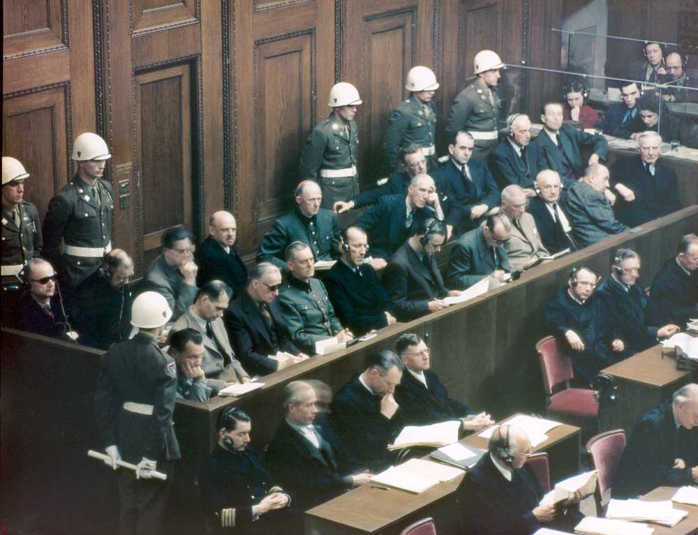 a review of the infamous nuremberg trials Nuremberg (16-jul-2000) director: yves simoneau writer nazi germany's ignominious defeat at the hands of allied forces in world war ii brought about the nuremberg trials, an infamous series of military tribunals held to document nazi war crimes and implicate various review by the.