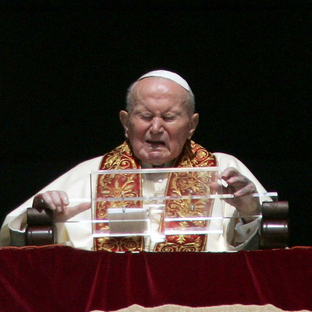 today in history 9 october 1996 pope paul ii tells catholics to