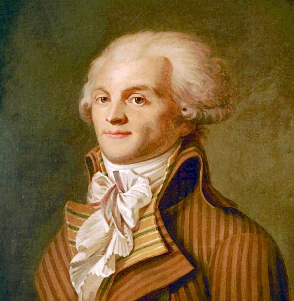 A history of maximillian robespierres reign of terror during the french revolution