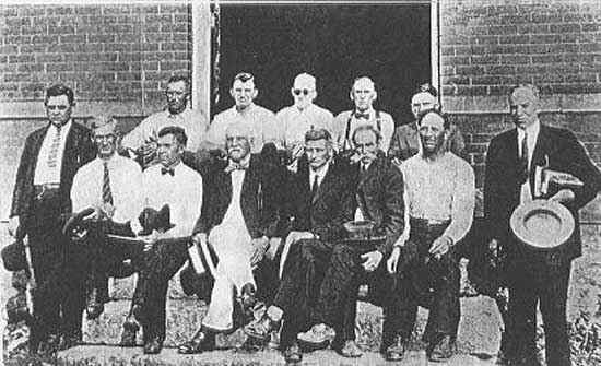 The Scopes Monkey Trial – The State of Tennessee v. John Thomas Scopes