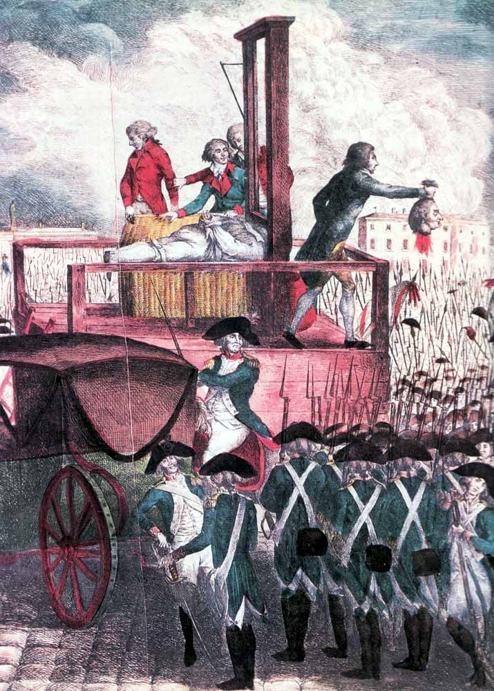 During France s Reign of Terror  Tens of Thousands are Executed    Reign Of Terror French Revolution